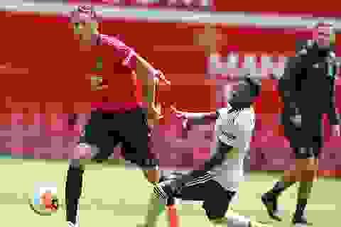Luke Shaw lập cú đúp trong trận đấu có 8 bàn thắng của Man Utd