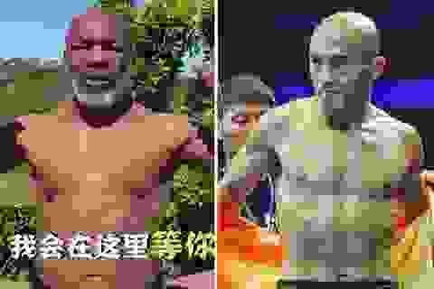"""""""Đệ nhất Thiếu Lâm"""" thách đấu Mike Tyson theo luật đặc biệt"""