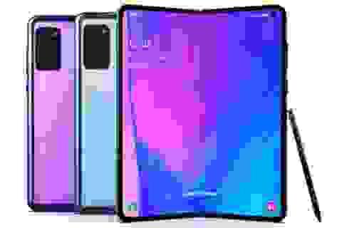 Lộ ảnh Samsung Galaxy Fold 2 với cụm camera nổi bật