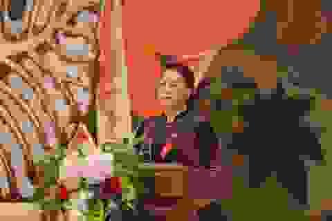 Chủ tịch Quốc hội gặp mặt, tuyên dương người làm báo tiêu biểu toàn quốc