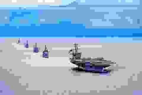 """Ba tàu sân bay Mỹ phô diễn sức mạnh ở Thái Bình Dương, """"nắn gân"""" Trung Quốc"""