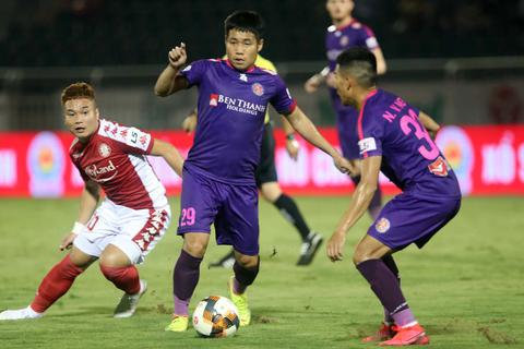 Sài Gòn FC và điểm nhấn của đội bóng dẫn đầu V-League 2020