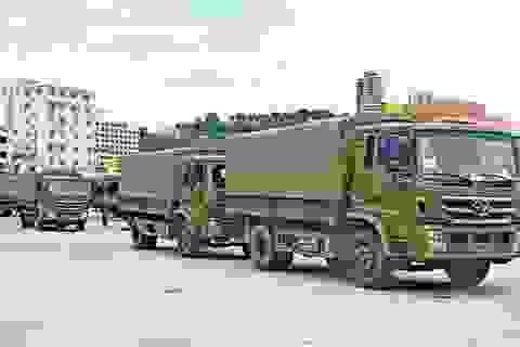 Trung Quốc viện trợ hơn 200 xe quân sự cho Campuchia