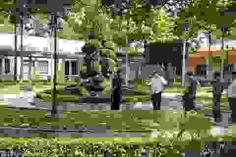 Người đàn ông tử vong trong công viên của bệnh viện Quân Y 120