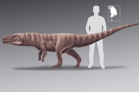 Cá sấu khổng lồ cổ đại đi bằng 2 chân