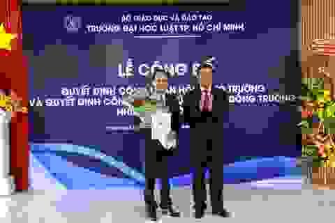 PGS.TS Vũ Văn Nhiêm làm Chủ tịch Hội đồng trường ĐH Luật TPHCM