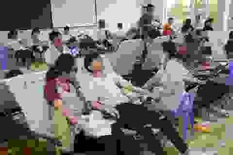 Đà Nẵng tiếp nhận 500 đơn vị máu tại ngày hội Ngày trình đỏ