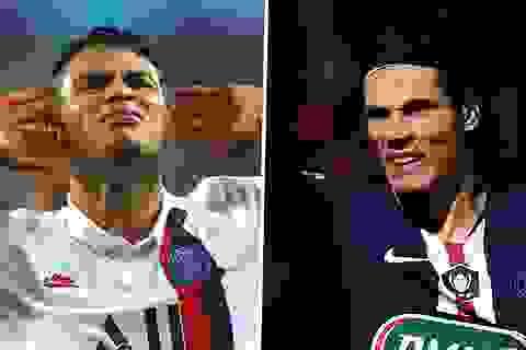 PSG chia tay hai ngôi sao Thiago Silva và Cavani