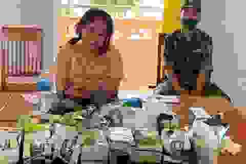 Truy bắt 5 đối tượng vận chuyển 32 kg ma túy các loại