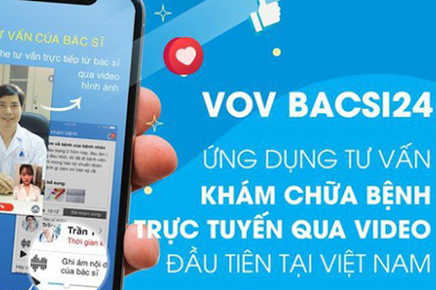 Tấm lòng các chiến sĩ mặc áo blue trắng trên ứng dụng VOV Bacsi24