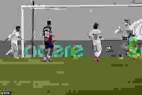 Ramos ghi bàn ấn tượng với cú nước rút trong 12 giây