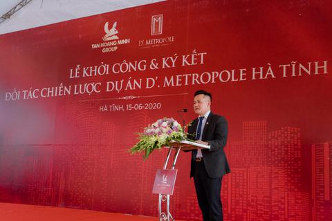 D'. Metropole Hà Tĩnh góp phần làm thay đổi diện mạo của thành phố Hà Tĩnh