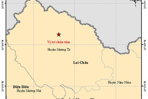 Lên phương án ứng phó sự cố hồ đập sau động đất ở Lai Châu