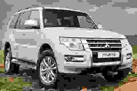 Mitsubishi triệu hồi hơn 800 xe Pajero đời cũ do lỗi túi khí