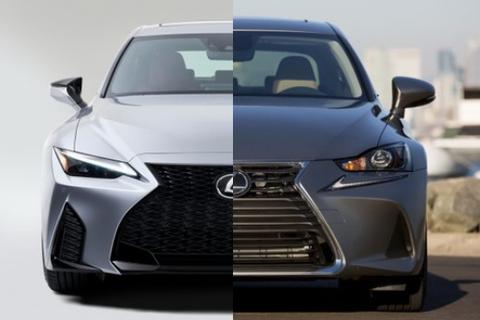 Lexus IS phiên bản nâng cấp 2021 có gì khác xe đời cũ?