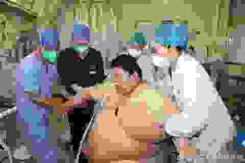Tăng thêm 100 kg sau 5 tháng phong tỏa