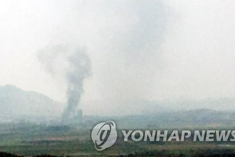 """Triều Tiên xác nhận phá hủy văn phòng liên lạc trong """"vụ nổ khủng khiếp"""""""