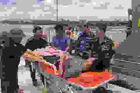 Biên phòng cứu hộ kịp thời thuyền viên bị viêm ruột thừa trên biển