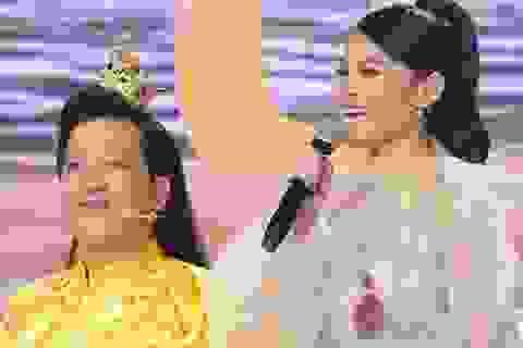 Á hậu Thùy Dung tiết lộ về Trường Giang khi đứng chung sân khấu
