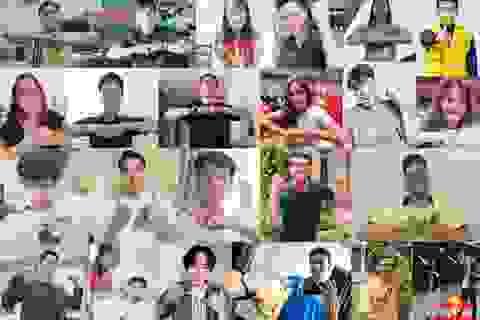 Thử thách lan toả năng lượng tích cực và những câu chuyện lần đầu mới kể của loạt sao Việt