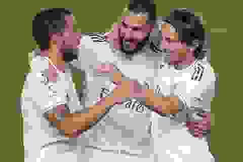 Thắng đậm Valencia, Real Madrid gây áp lực lên Barcelona
