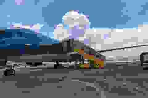 Chuyến bay đầu tiên chở hơn 300 người Việt từ châu Phi về nước