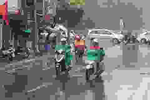 Chiều tối và đêm nay Hà Nội mưa giông