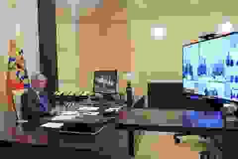Căn phòng bí mật của Tổng thống Putin trong Điện Kremlin