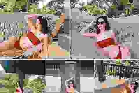 Đỗ Mỹ Linh diện bikini nóng bỏng