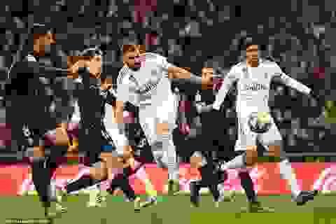 Cơ hội vàng để Real Madrid soán ngôi đầu của Barcelona