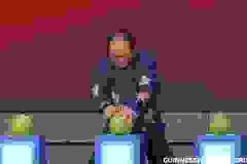 """Đại sư Thiếu Lâm dùng """"Nhất Dương Chỉ"""", lập kỷ lục Guinness"""