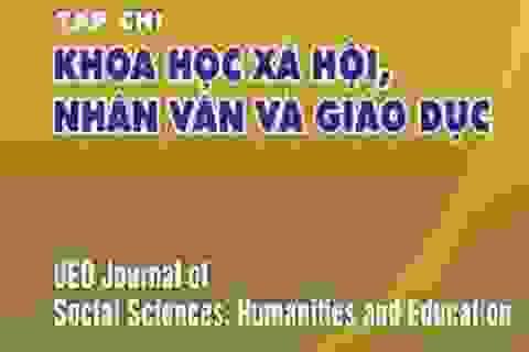 ĐH Sư phạm Đà Nẵng có tạp chí chuyên ngành khoa học xã hội và nhân văn