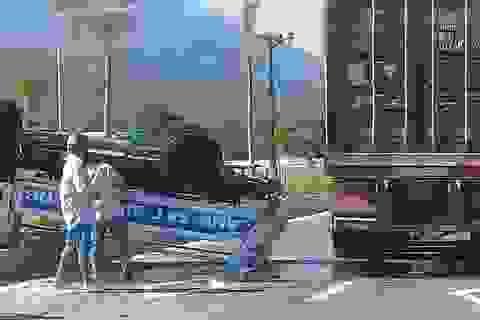 Vụ xe tuần tra CSGT bị tông lật ngửa: Tài xế xe đầu kéo thiếu quan sát