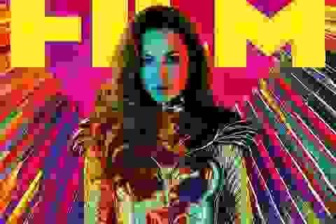 """Wonder Woman gợi cảm và máu lửa trong bộ giáp """"Đại bàng vàng"""""""