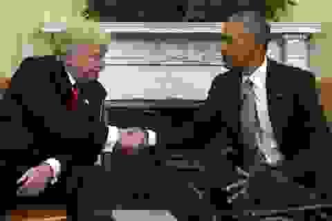 Ông Trump cáo buộc ông Obama có thể mắc tội phản quốc