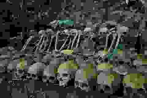 """Thử thách khám phá """"đảo đầu lâu"""", nơi mai táng theo cách kì dị tại đảo Bali"""