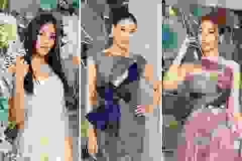 """Hoa hậu Hà Kiều Anh """"đọ sắc"""" cùng Trần Tiểu Vy và Mỹ Linh"""