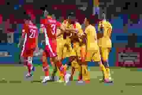 Quế Ngọc Hải mắc lỗi, CLB Viettel thua Thanh Hoá tại Hàng Đẫy
