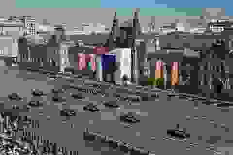 14.000 quân Nga duyệt binh mừng 75 năm chiến thắng phát xít