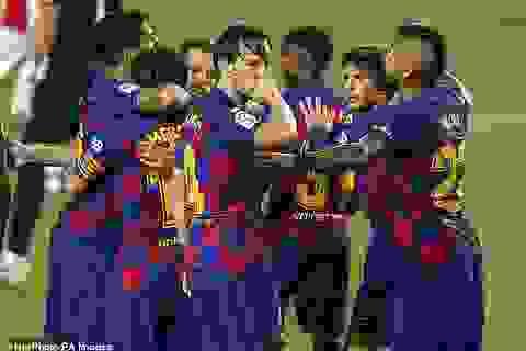 Messi và Rakitic tỏa sáng giúp Barcelona nhọc nhằn đánh bại Bilbao