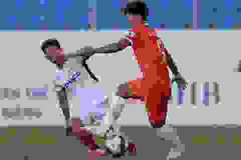 HA Gia Lai thua SHB Đà Nẵng trong ngày Xuân Trường tái xuất