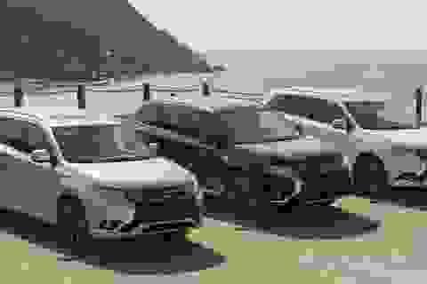 """Mitsubishi rút về """"làm ăn nhỏ"""""""