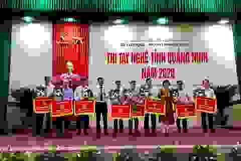 Thi tay nghề tỉnh Quảng Ninh, tôn vinh lao động trẻ có tay nghề cao