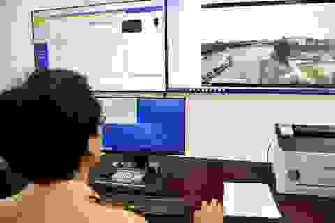 """110 """"mắt thần"""" giám sát giao thông trên cao tốc Nội Bài - Lào Cai"""