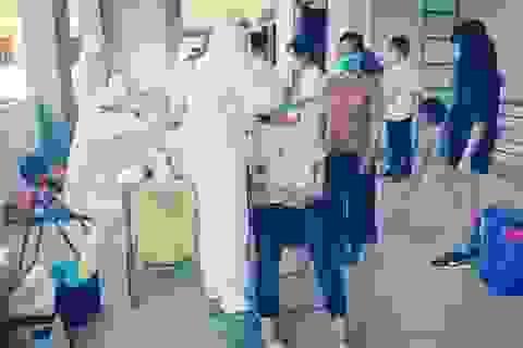 345 công dân trở về từ Nhật Bản âm tính với SARS-CoV-2