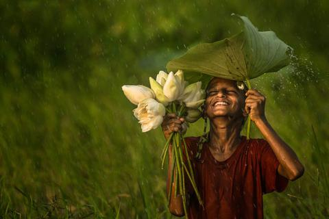 Thư giãn tâm trí với 25 bức ảnh màu xanh tuyệt đẹp