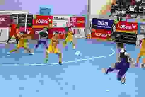 Ngôi đầu giải futsal vô địch quốc gia lại đổi chủ