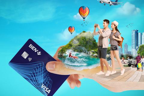 """Hạ nhiệt ngày hè cùng khuyến mại """"Chào Hè xanh"""" cho chủ thẻ BIDV"""
