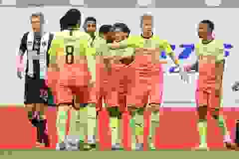 Vượt qua Newcastle, Man City tiến vào bán kết FA Cup