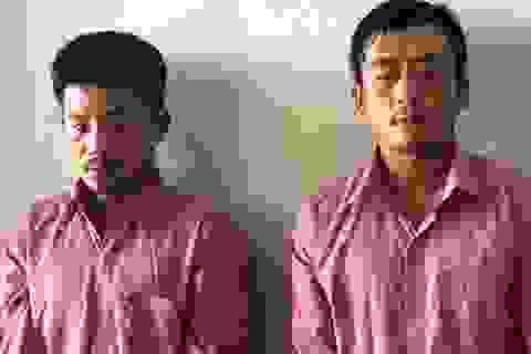 Hai thanh niên trộm xe máy, tháo biển số để đi cướp giật